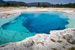 Sapphire pool, Yellowstone National Park Royalty Free Stock Images