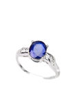 Sapphire Ring stock photos