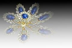 Sapphire ring Stock Image