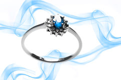 Sapphire Ring Stock Photography