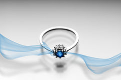 Sapphire Ring Stock Images