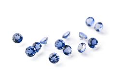 Sapphires Stock Photography
