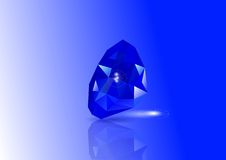 Sapphires Royalty Free Stock Image
