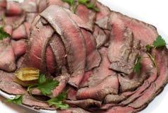 Sappig braadstukrundvlees Stock Foto
