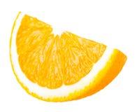 Sappig gedeelte van sinaasappel Stock Foto's