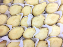 Sappig geel perenfruit Stock Foto's