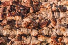 Sappig geroosterd vlees Stock Afbeelding