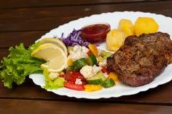 Sappig lapje vlees Stock Foto's