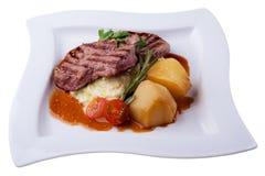 Sappig lapje vlees Royalty-vrije Stock Afbeelding