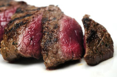 Sappig vlees stock afbeelding