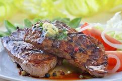Sappige biefstuk Stock Fotografie