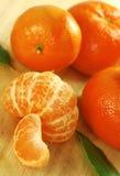 Sappige Clementines royalty-vrije stock foto