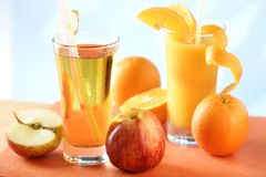 Sappige dorst quencher Stock Fotografie