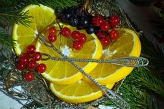 Sappige en heerlijke sinaasappelen Royalty-vrije Stock Afbeelding