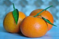 Sappige mandarin Stock Foto's