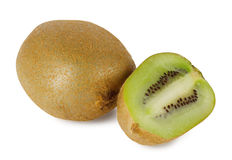 Sappige rijpe kiwi Stock Afbeelding