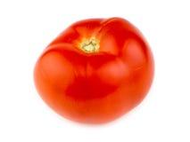 Sappige rijpe organische Australische rode die tomaat op wit wordt geïsoleerd Royalty-vrije Stock Afbeeldingen