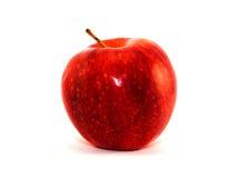 Sappige rijpe rode appel Royalty-vrije Stock Foto's