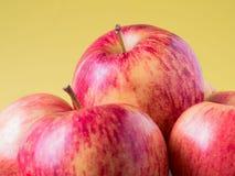 Sappige rode appelen Stock Foto