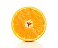 Sappige sinaasappel Royalty-vrije Stock Foto's