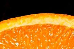 Sappige sinaasappel Royalty-vrije Stock Afbeeldingen