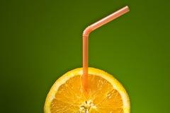 Sappige sinaasappel. Royalty-vrije Stock Afbeeldingen