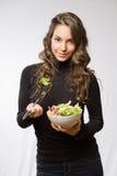 Sappige verse salade. Royalty-vrije Stock Foto