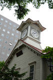 Sapporo city clock tower, in Japan Stock Images
