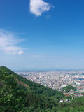 Sapporo City view Royalty Free Stock Images