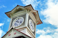 Sapporo clock tower. Stock Photography