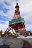 Sapporo Fernsehkontrollturm Lizenzfreies Stockfoto