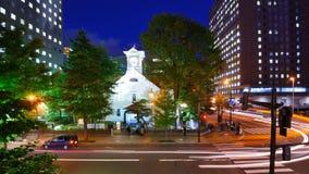 Sapporo-Glockenturm lizenzfreie stockfotos