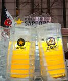 Sapporo ice sculpture during 2018 Sapporo snow festival royalty free stock photography