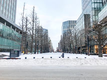 SAPPORO, JAPÃO - 17 DE DEZEMBRO DE 2016: O governo anterior Offic do Hokkaido Fotos de Stock
