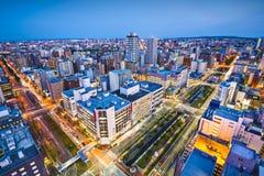 Sapporo Japan Arkivbilder