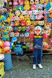 SAPPORO, JAPAN - APRIL 27,2015 : Japanese animation plastic mask Stock Image