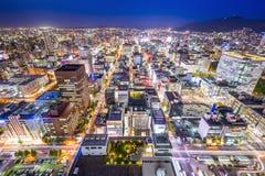 Sapporo, Japan Cityscape Stock Photos