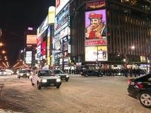 SAPPORO JAPAN - DEC 17, 2016: Trafik passerar till och med Susukien Royaltyfria Bilder