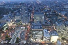 Sapporo, Japan-Stadtbild im zentralen Bezirk Stockfoto
