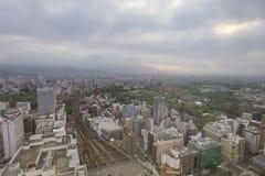 Sapporo, Japan-Stadtbild im zentralen Bezirk Stockbilder