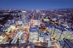 Sapporo, Japon images stock