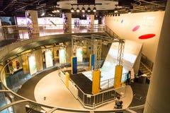 Sapporo, Japon, le 28 janvier 2018 : Musée W de sports d'hiver de Sapporo Photo stock
