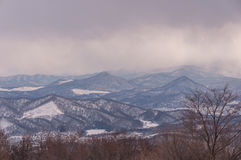 Sapporo mounter view in winter Stock Photography