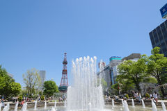 Sapporo Odori Park Royalty Free Stock Photo
