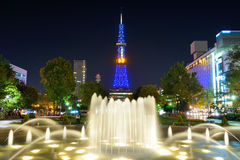 Sapporo Skyline Royalty Free Stock Photos