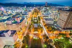Sapporo Skyline Stock Photo