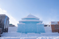 Sapporo Snow festival 2013 Royalty Free Stock Photo