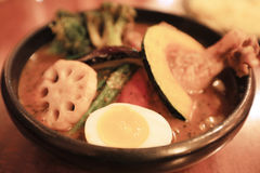 Sapporo Soup Curry at Hokkaido, Japan. The Sapporo Soup Curry at Hokkaido, Japan stock images