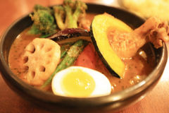 Sapporo Soup Curry at Hokkaido, Japan. The Sapporo Soup Curry at Hokkaido, Japan stock photos