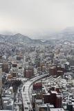 Sapporo-Stadt in Japan stockbild